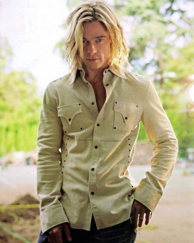 Brad Pitt Hairstyles 43