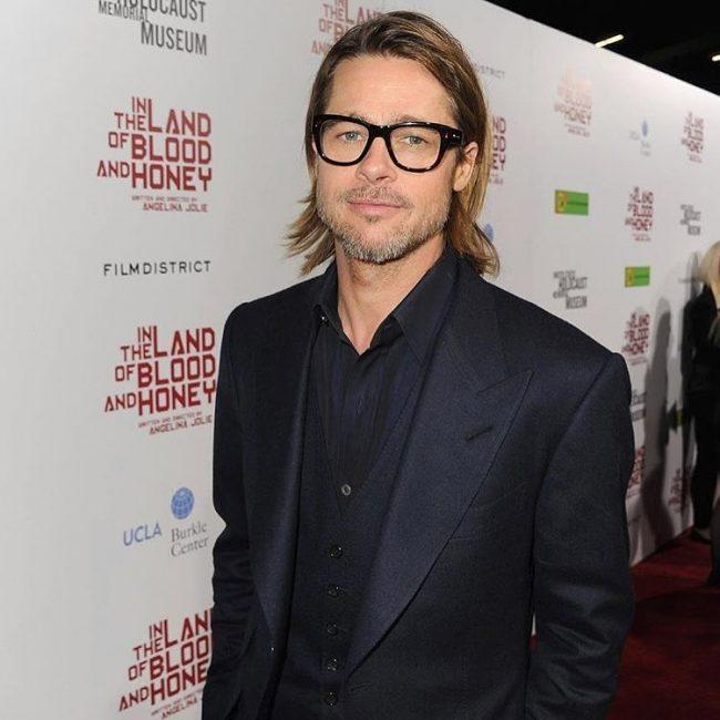 Brad Pitt Hairstyles 44