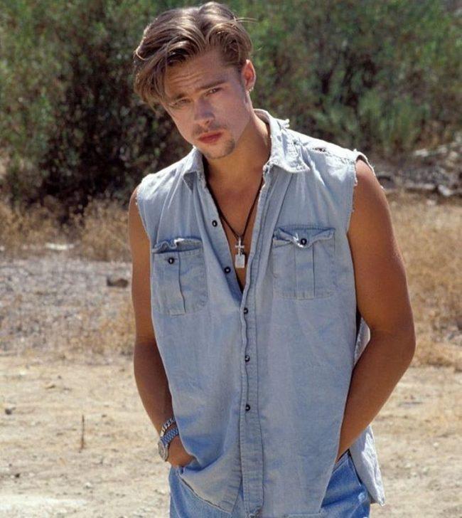 Brad Pitt Hairstyles 50