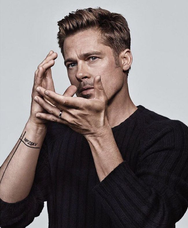 Brad Pitt Hairstyles 60