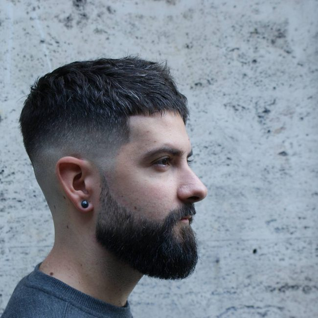 50 Popular Ways To Wear Caesar Haircut 2018 Ideas
