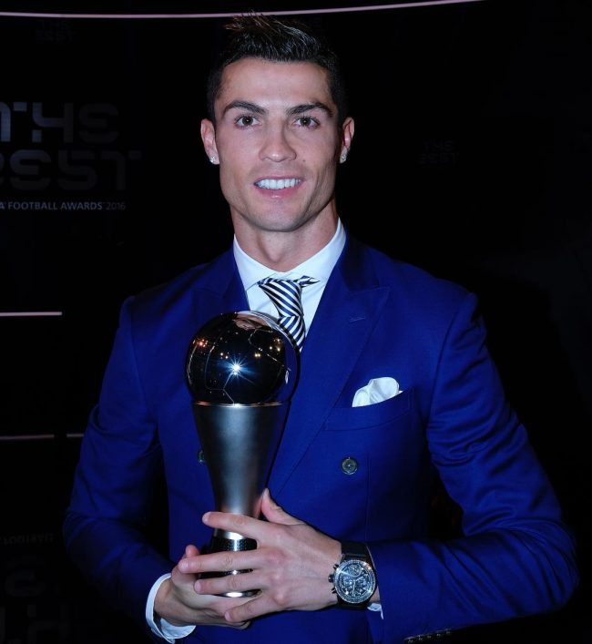 Cristiano Ronaldo Haircut 57