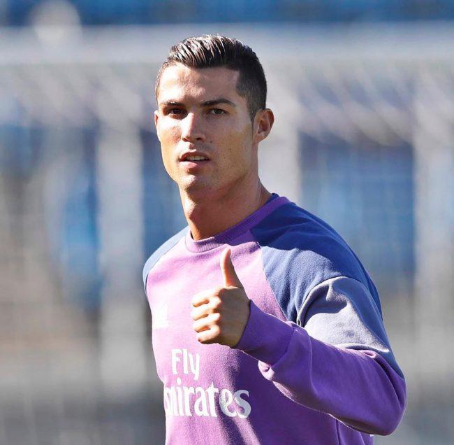 Cristiano Ronaldo Haircut 69