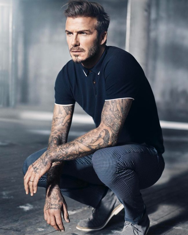 David Beckham Hair 42