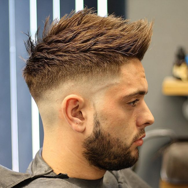 70 Amazing Sexy Faux Hawk Fade Haircuts - (New in 2019)
