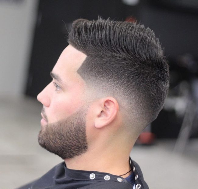 70 Amazing Sexy Faux Hawk Fade Haircuts New In 2019