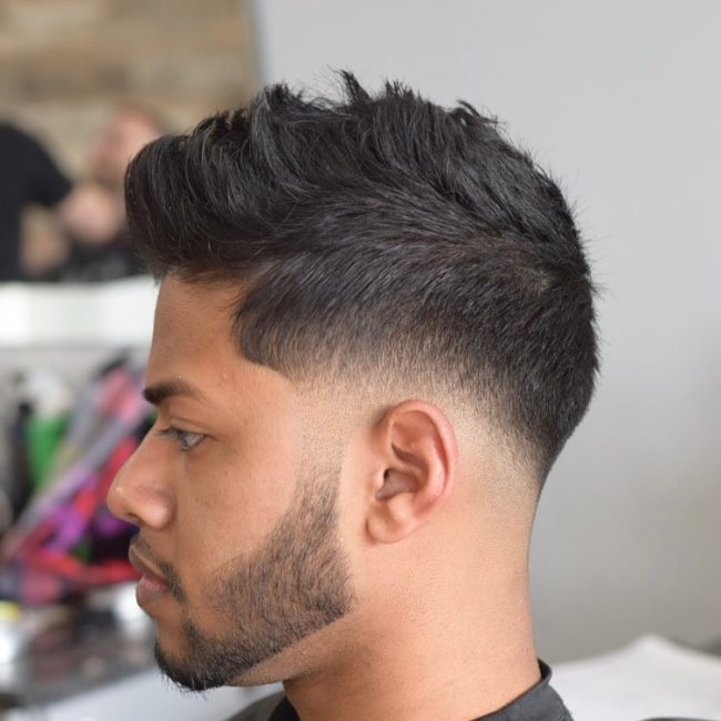 Perfect Faux Hawk Fade 57