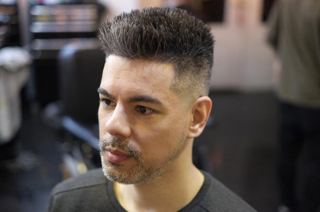 Flat Top Haircut 28