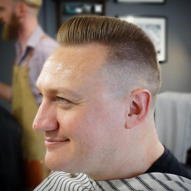 Flat Top Haircut 33