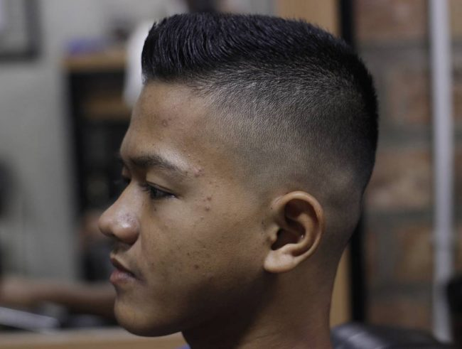 Flat Top Haircut 34
