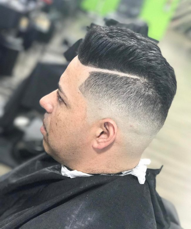 Flat Top Haircut 35