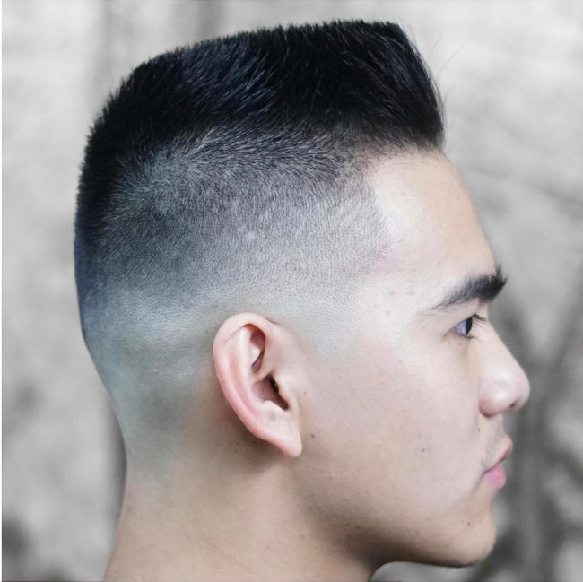 Flat Top Haircut 37