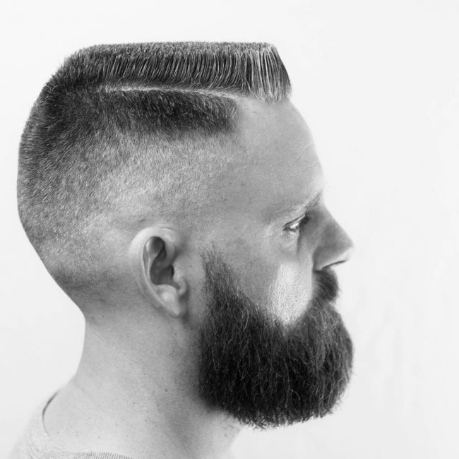 Flat Top Haircut 39