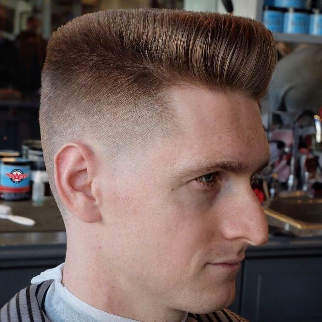 Flat Top Haircut 42