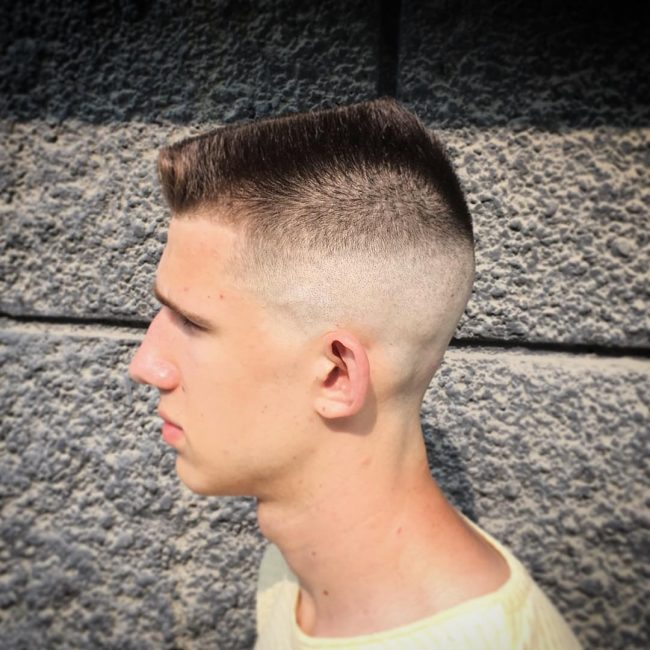 Flat Top Haircut 45