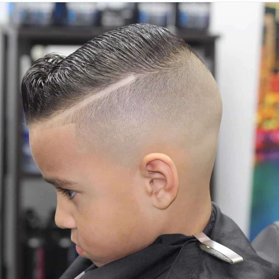 Flat Top With Bangs