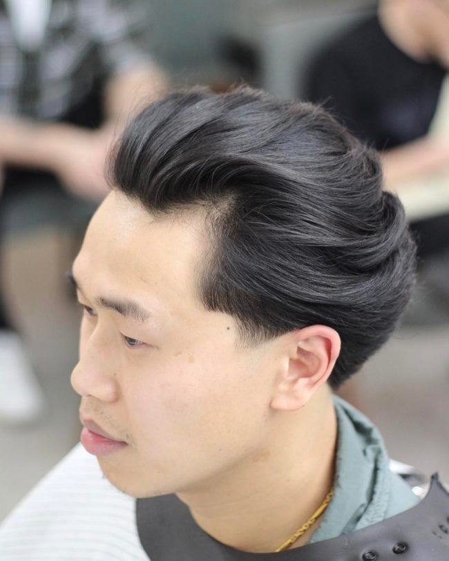 Haircuts For Round Faces For Men