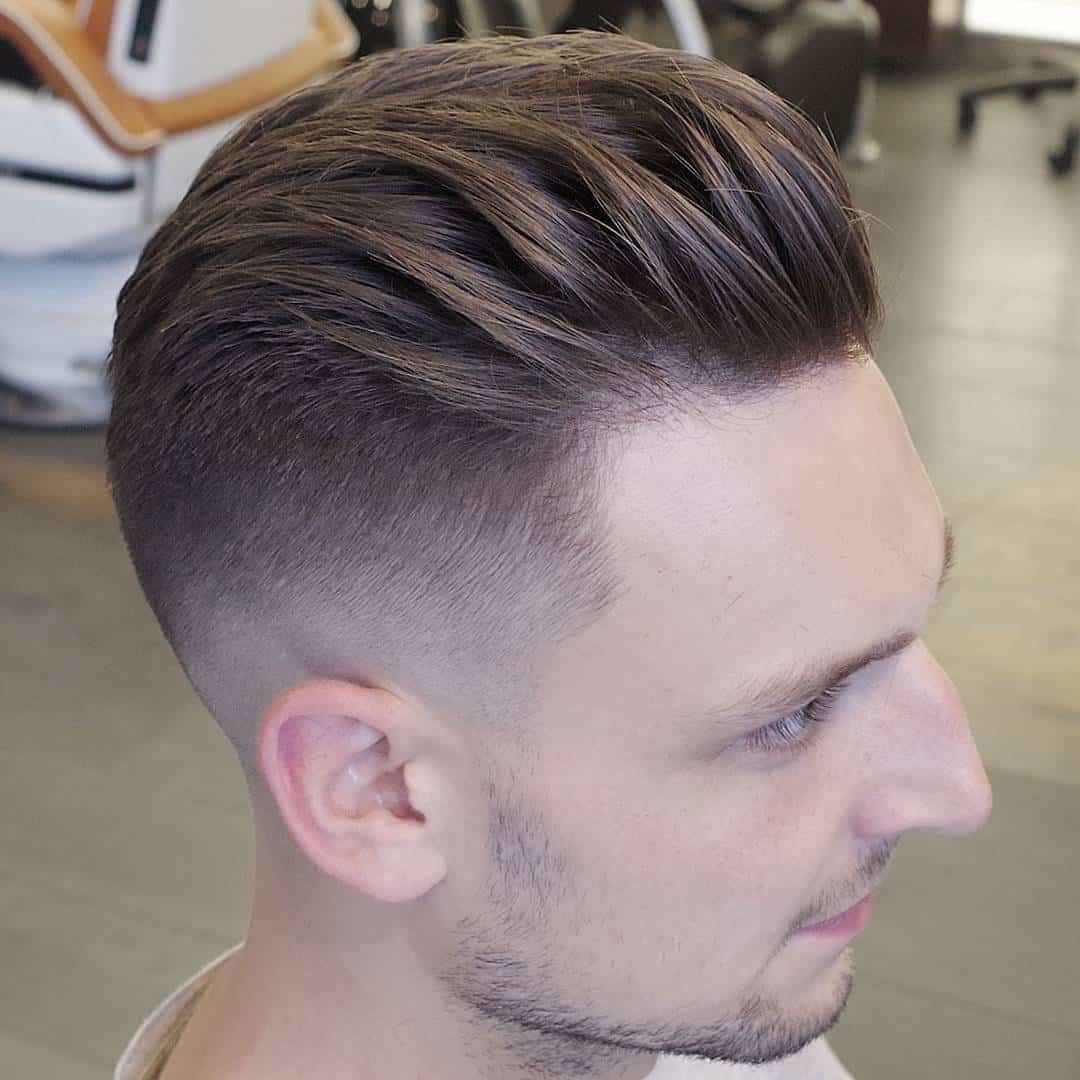 60 Best Male Haircuts For Round Faces - Be Unique in 2018