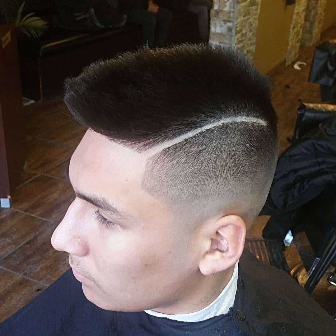 Image result for high top fade Faux Hawk