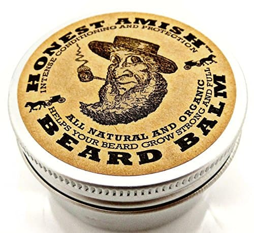 Honest Amish Beard Balm-Leave-in Conditioner