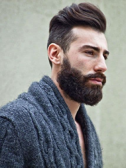 Long Waves with Thick Beard