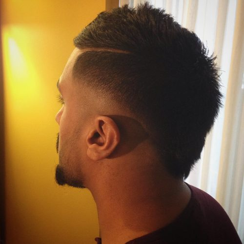 45 Amazing Sexy Faux Hawk Fade Haircuts New In 2016
