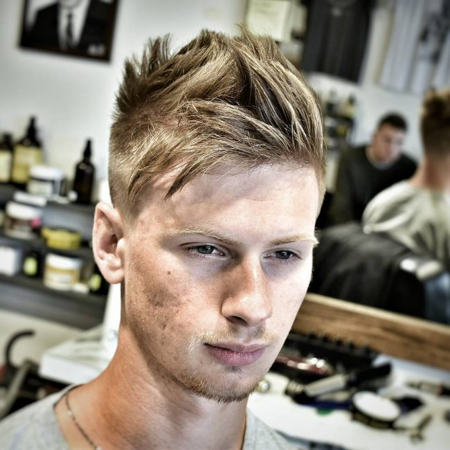 Men's Messy Hairstyles 46