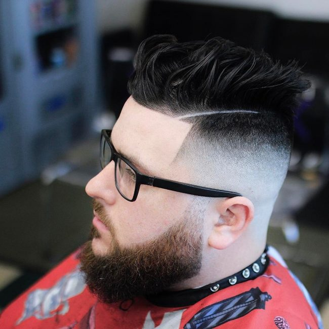 Pompadour Haircut 26