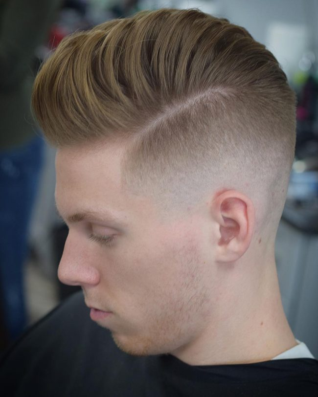 Pompadour Haircut 27