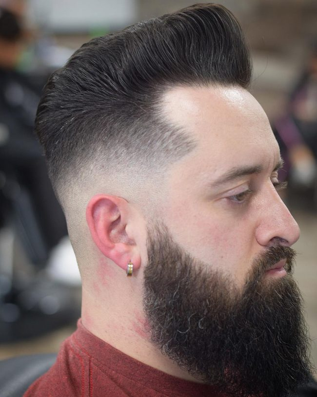 Pompadour Haircut 28