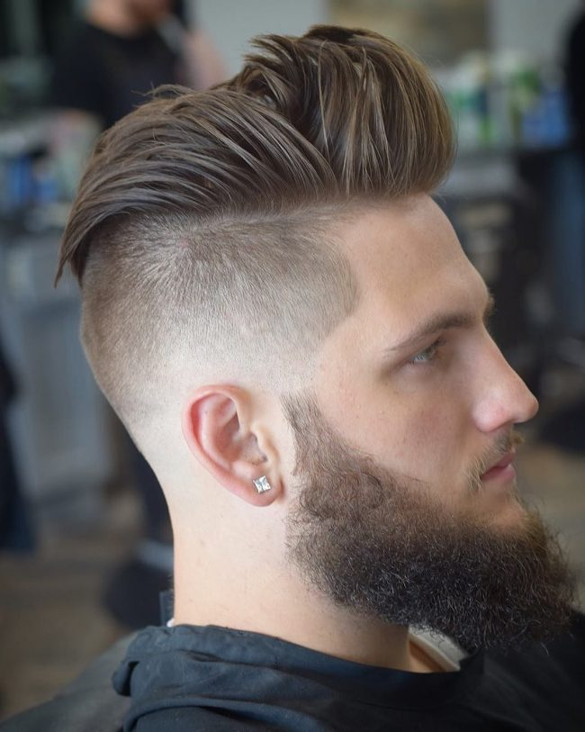 Pompadour Haircut 29