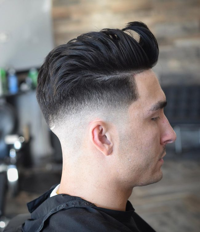 Pompadour Haircut 30