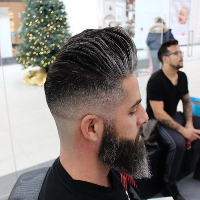 Pompadour Haircut 31