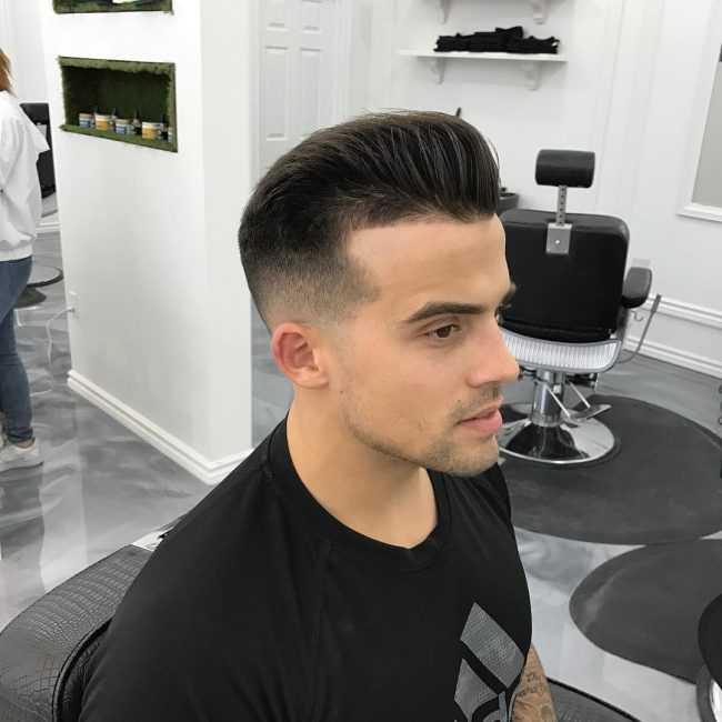 Pompadour Haircut 32