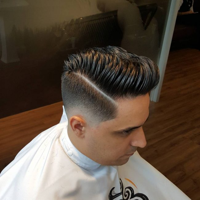 Pompadour Haircut 34