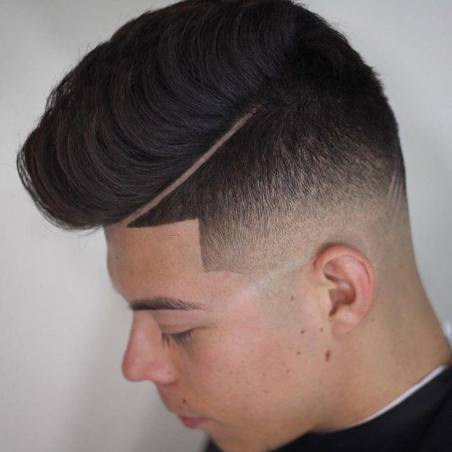 Pompadour Haircut 35