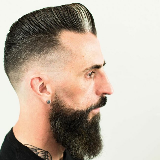 Pompadour Haircut 36