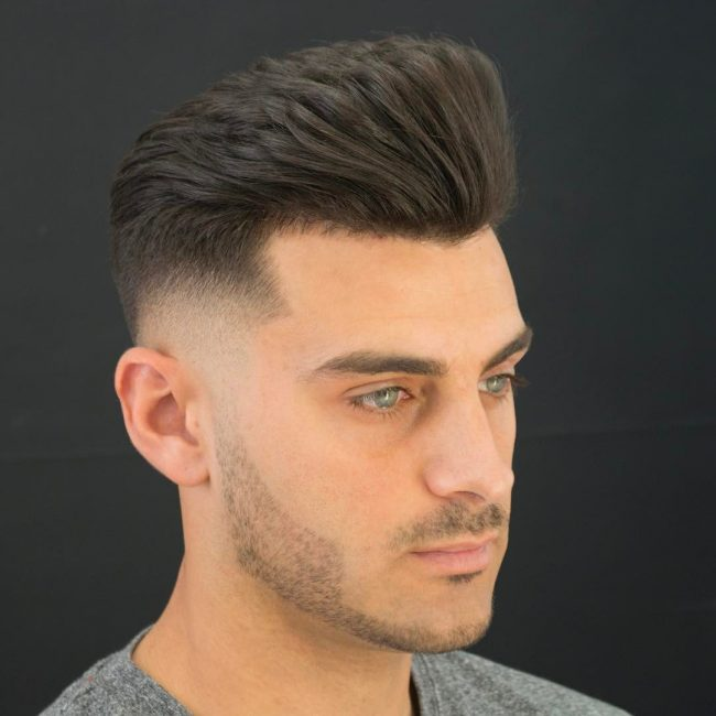 Pompadour Haircut 37
