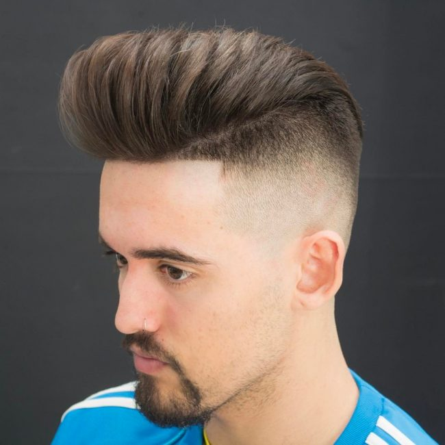 Pompadour Haircut 38
