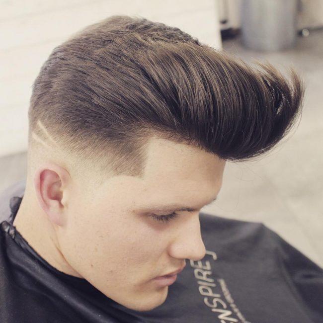Pompadour Haircut 39
