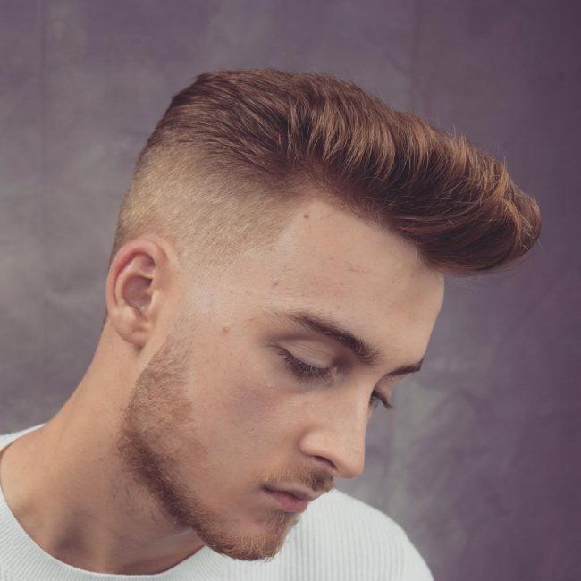 Pompadour Haircut 40
