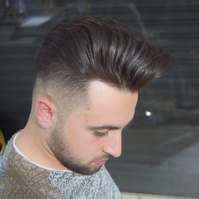 Pompadour Haircut 42