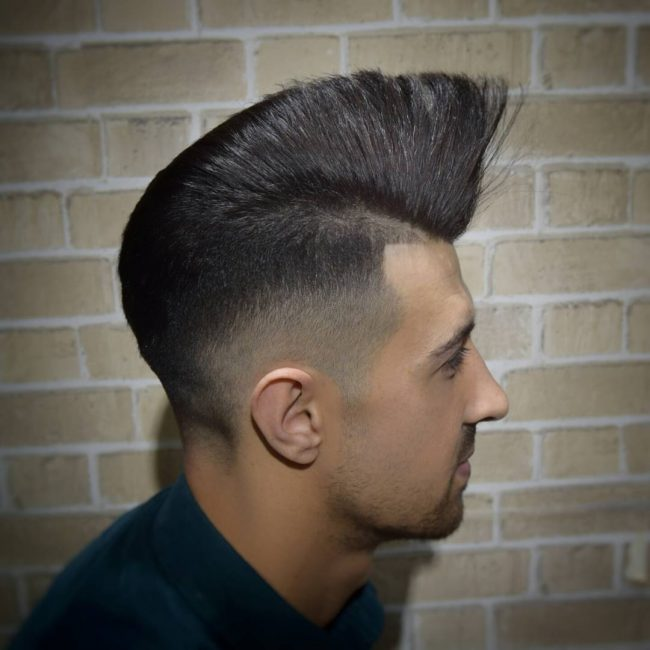 Pompadour Haircut 43