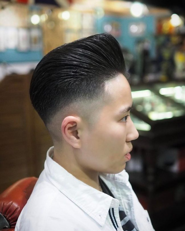 Pompadour Haircut 44