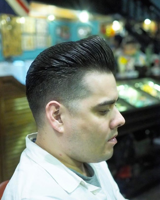 Pompadour Haircut 45