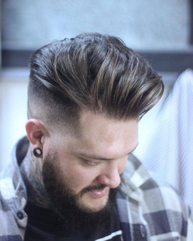 Pompadour Haircut 46