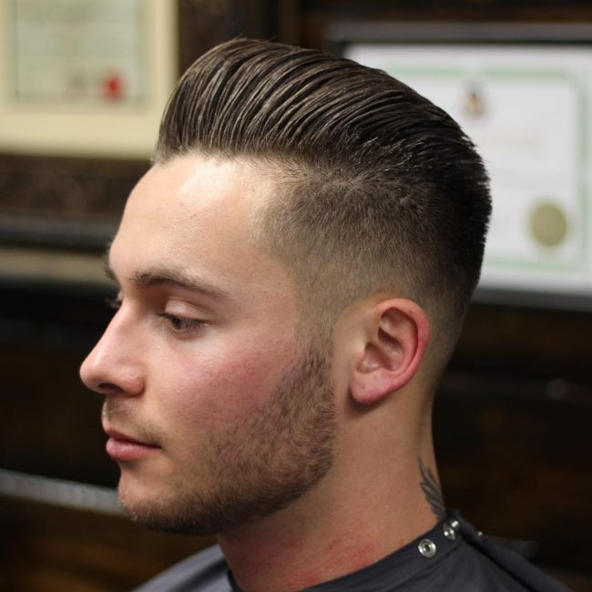Pompadour Haircut 48