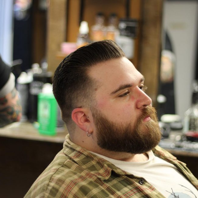 Pompadour Haircut 49