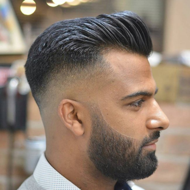Pompadour Haircut 50