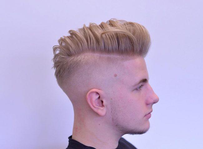 Pompadour Haircut 52